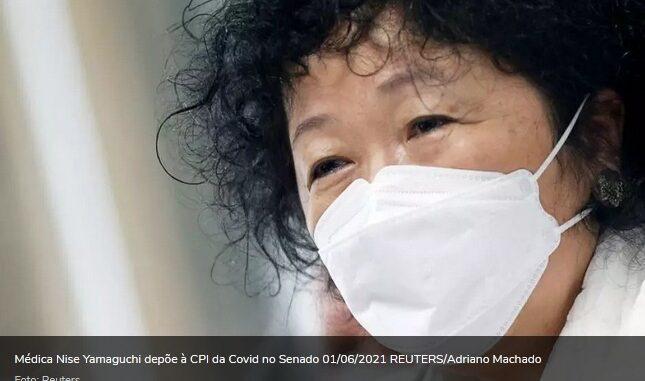 Nise Yamaguchi diz ter conversado com Saúde sobre cloroquina