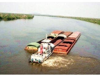 A balsa interligará o Costa Marques, no ldo brasileiro, ao Puerto Ustarez/Departamento do Beni/Bolívia.