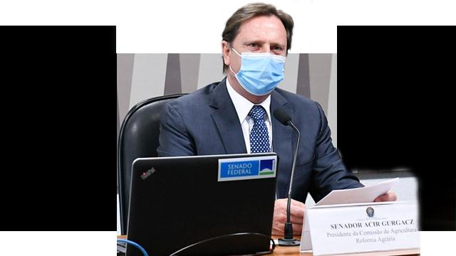 Presidente da CRA, senador Acir Gurgacz (PDT-RO)